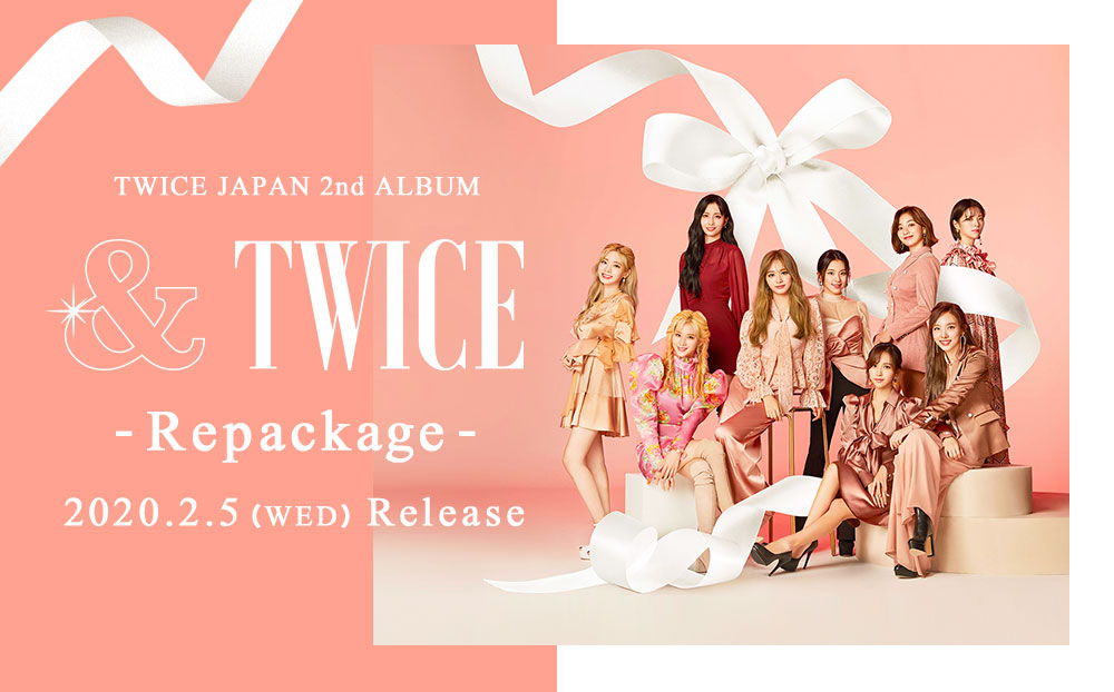 TWICE JAPAN 2nd ALBUM『&TWICE -Repackage-』