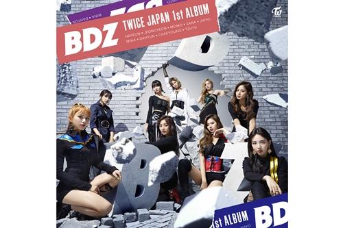 TWICE JAPAN 1st ALBUM『BDZ』リリースイベントオフィシャルグッズ・ラインナップ決定!!