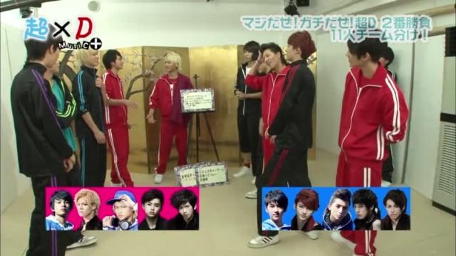 超×D Music+ マジだぜ!ガチだぜ!2番勝負 超特急,DISH// (2013.12.30)#3