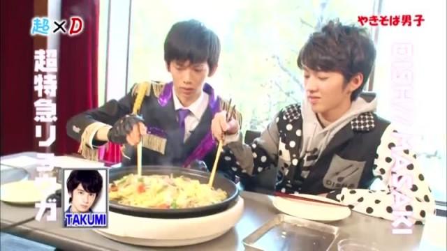 超×D 焼きそば男子 超特急 DISH// (2013/3/28)#2