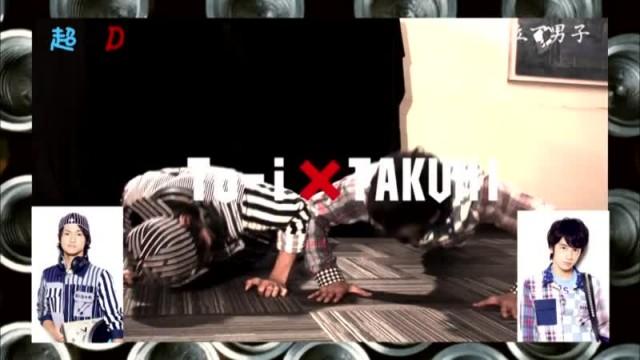 超×D 腕立て男子 DISH// (2013/1/24)