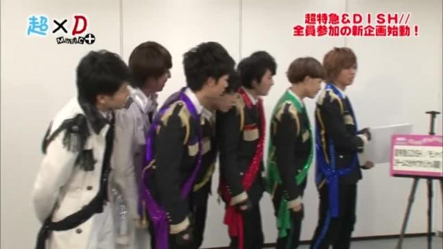超×D Music+ ちょうどいい学芸会 超特急 (2013/4/2)