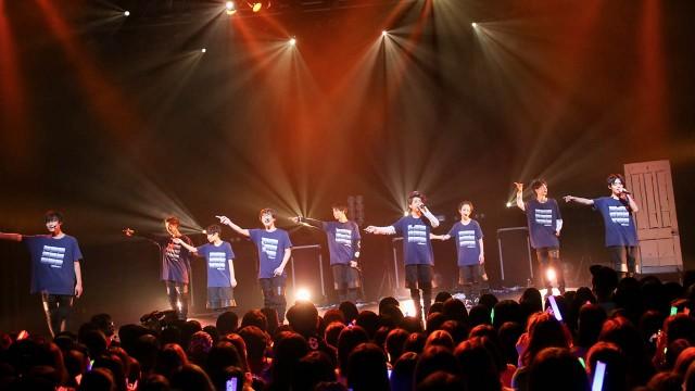 SUPER★DRAGON「NUMBER 9 TOUR」東京公演2部 ライブ本編#4