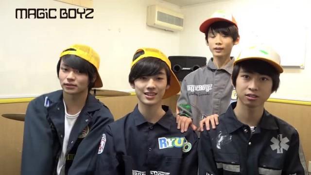 MAGiC BOYZ コメント動画