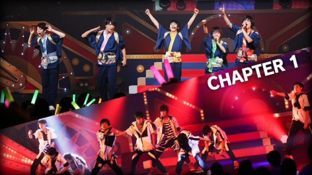 「EBiDAN THE LIVE 2016」Day1 - Part3【CHAPTER 1】