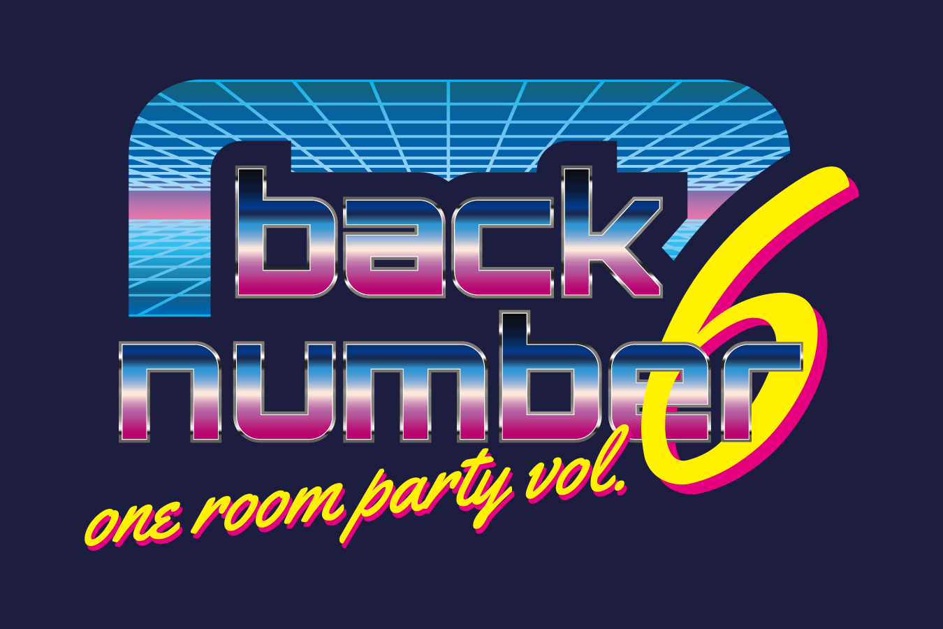 back number fan club tour『one room party vol.6』開催決定!