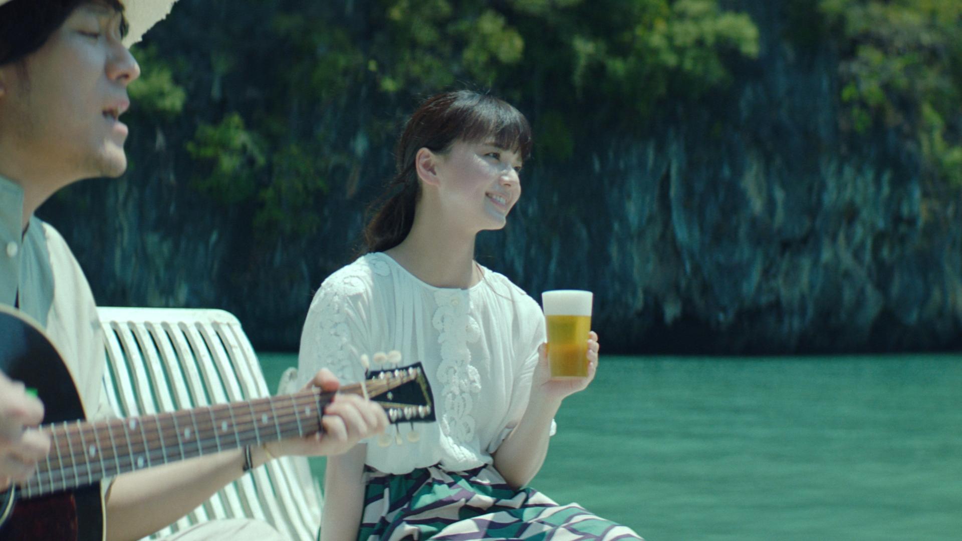 キリンビール「淡麗グリーンラベル」新CM「GREEN JUKEBOX 夏篇」が7/1(月)から放送開始!