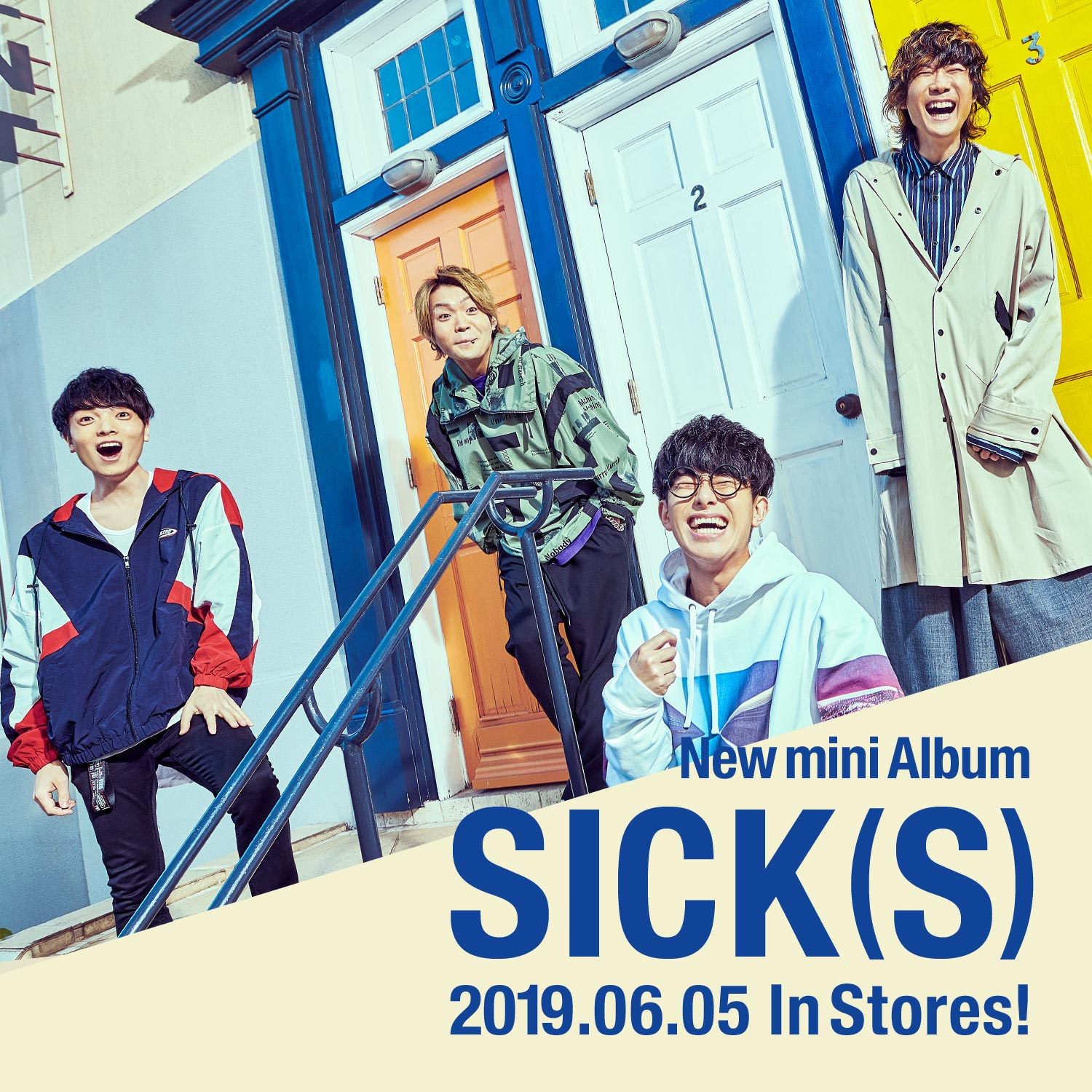 New mini Album「SICK(S)」06.05 Release