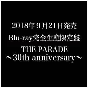 LIVE Blu-ray「THE PARADE 〜30th anniversary〜」完全生産限定盤