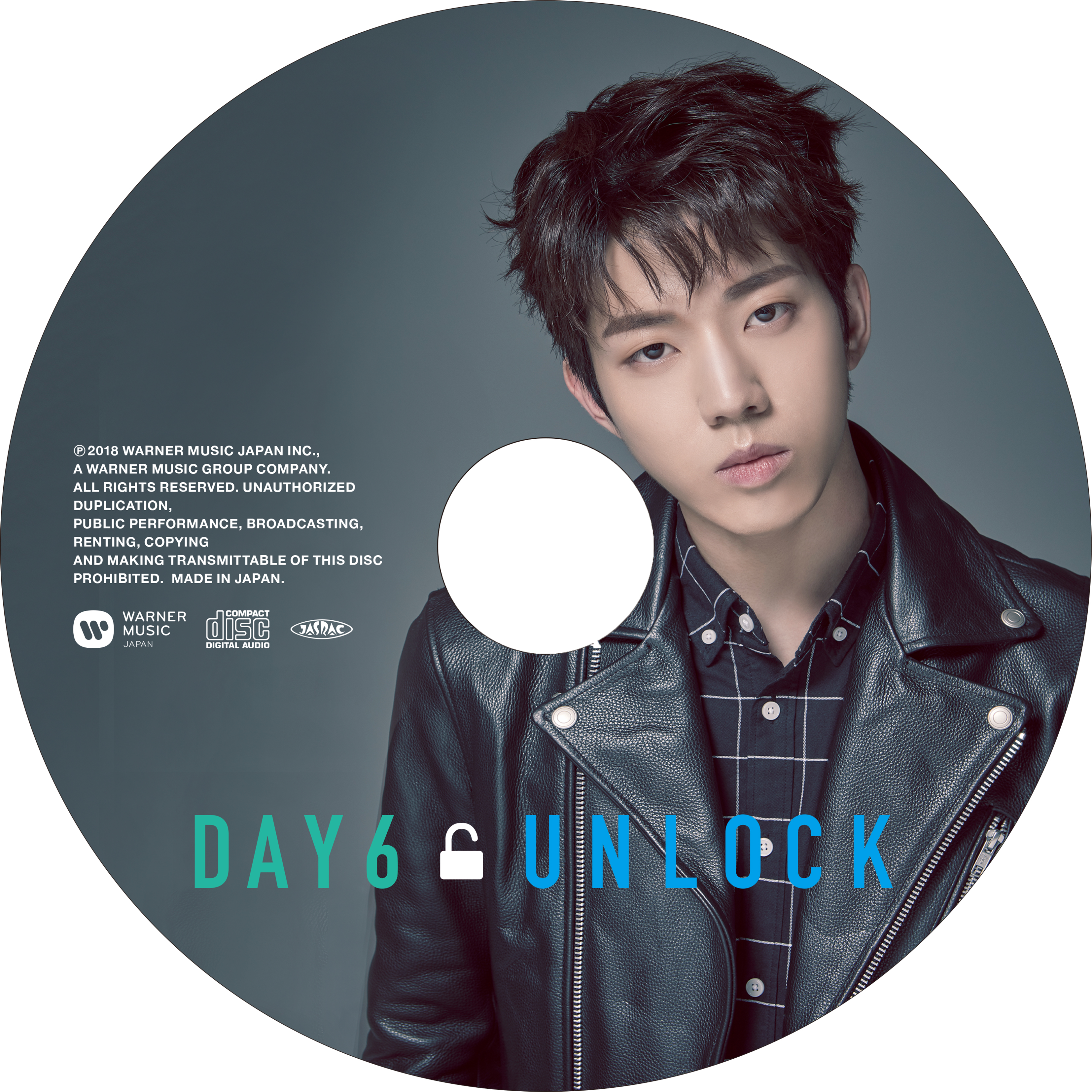 JAPAN 1st ALBUM「UNLOCK」