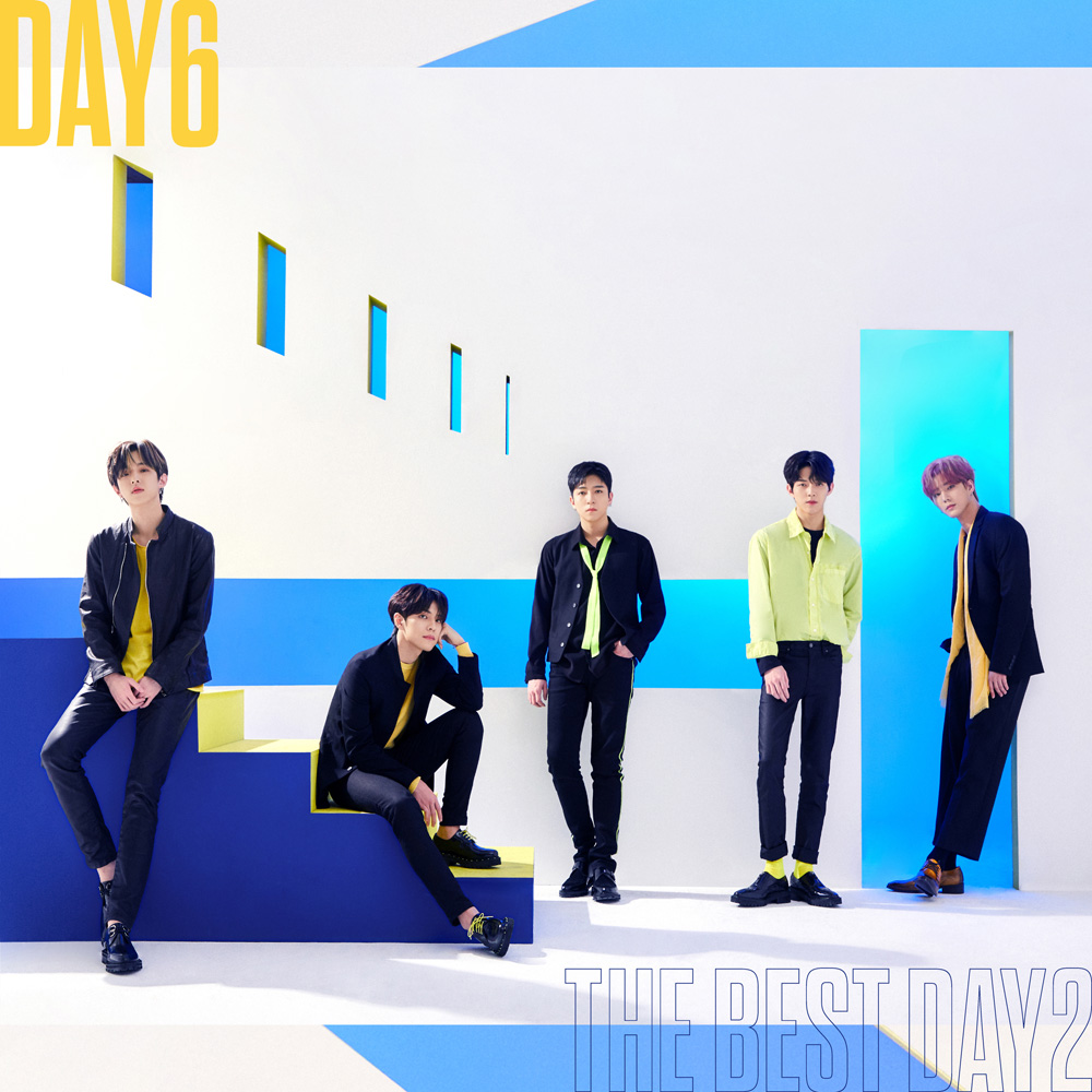 DAY6 2nd BEST ALBUM「THE BEST DAY2」