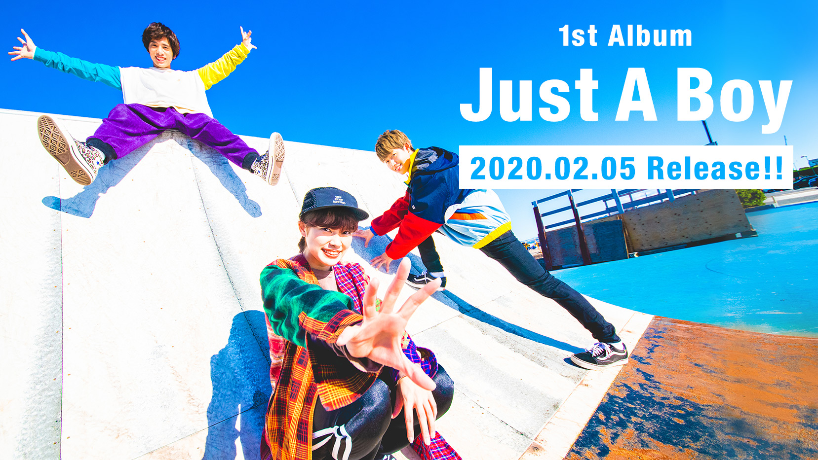 LONGMANメジャー1st Album 『Just A Boy』2020.02.05リリース決定!