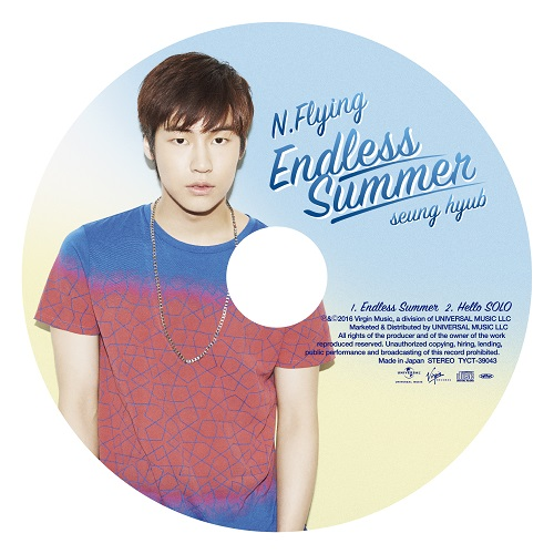 Endless Summer[初回限定盤 ピクチャーレーベル(スンヒョプ)]