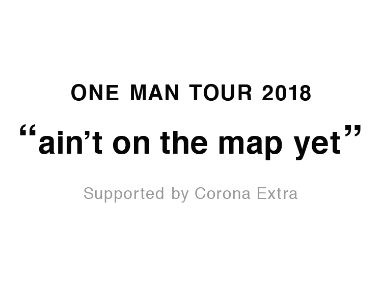 one man tour 2018