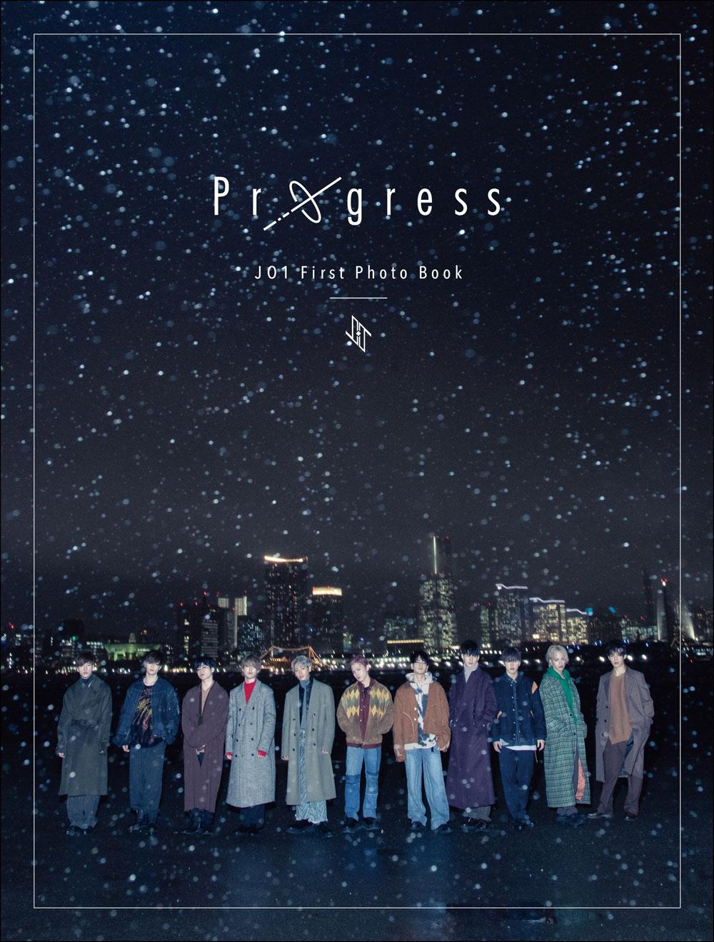 JO1 1st写真集『Progress』楽天ブックス限定カバー