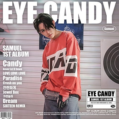 1st ALBUM 「EYE CANDY」