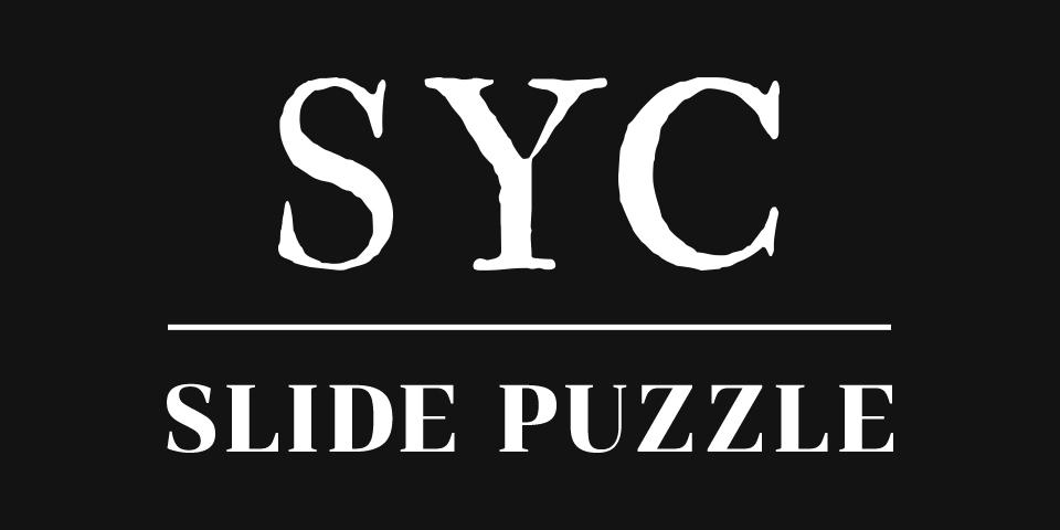 SYC SLIDE PUZZLE