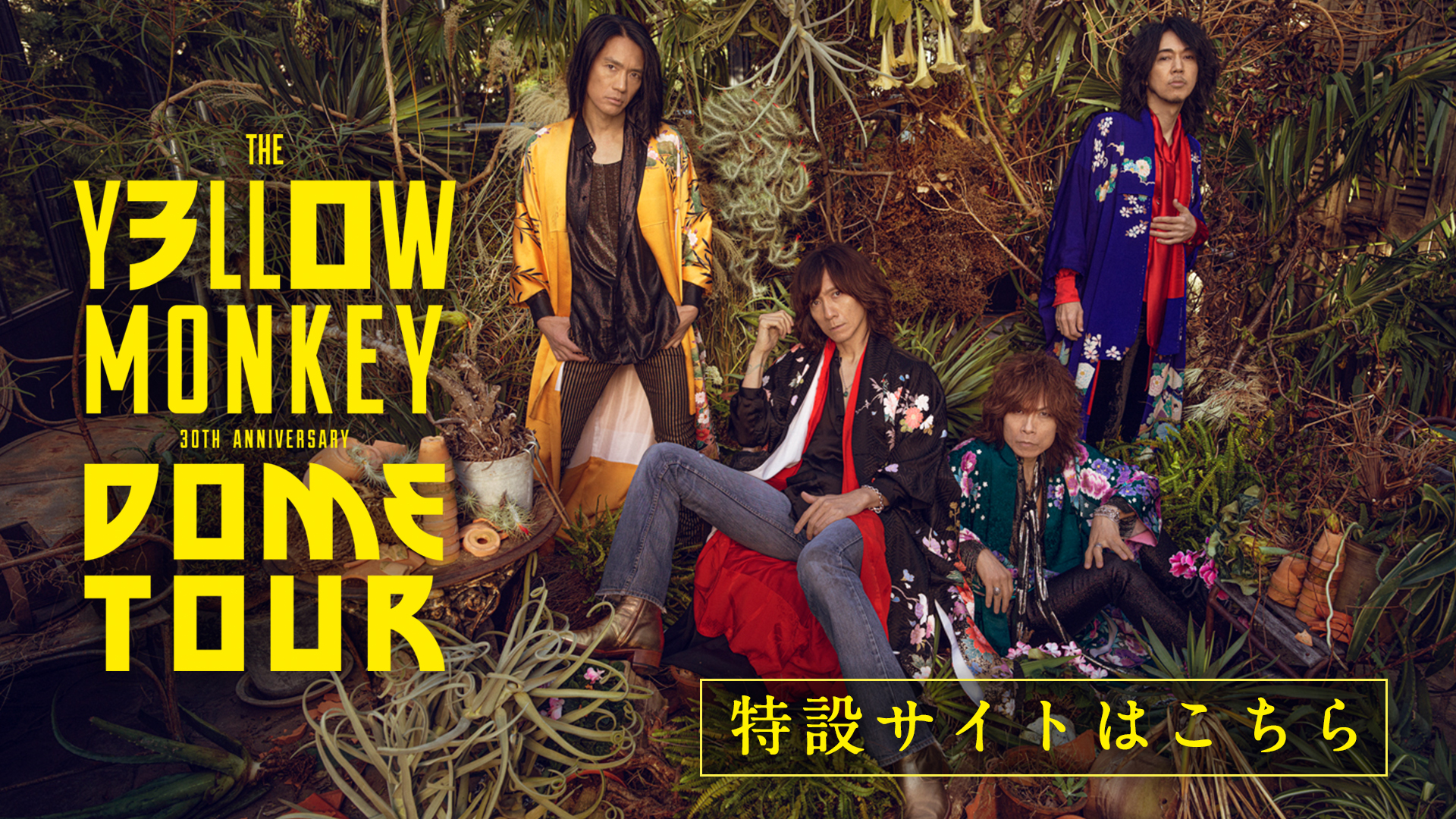 THE YELLOW MONKEY 30th Anniversary DOME TOUR
