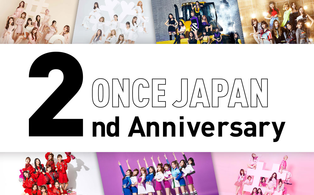 ONCE JAPAN 2nd Anniversary