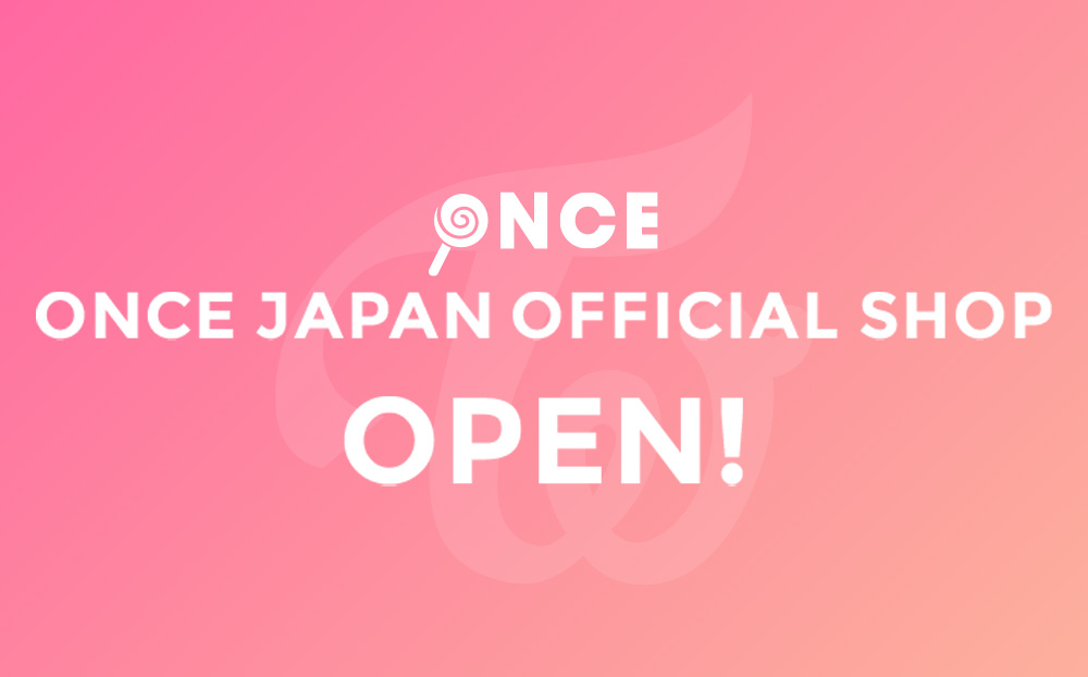 TWICE OFFICIAL SHOP OPEN