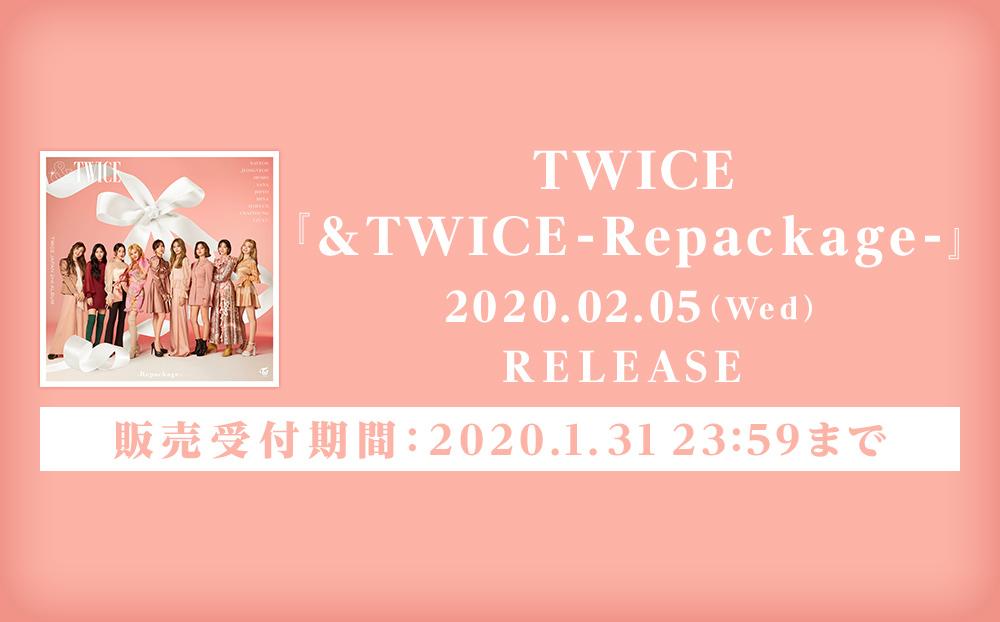 『&TWICE-Repackage-』